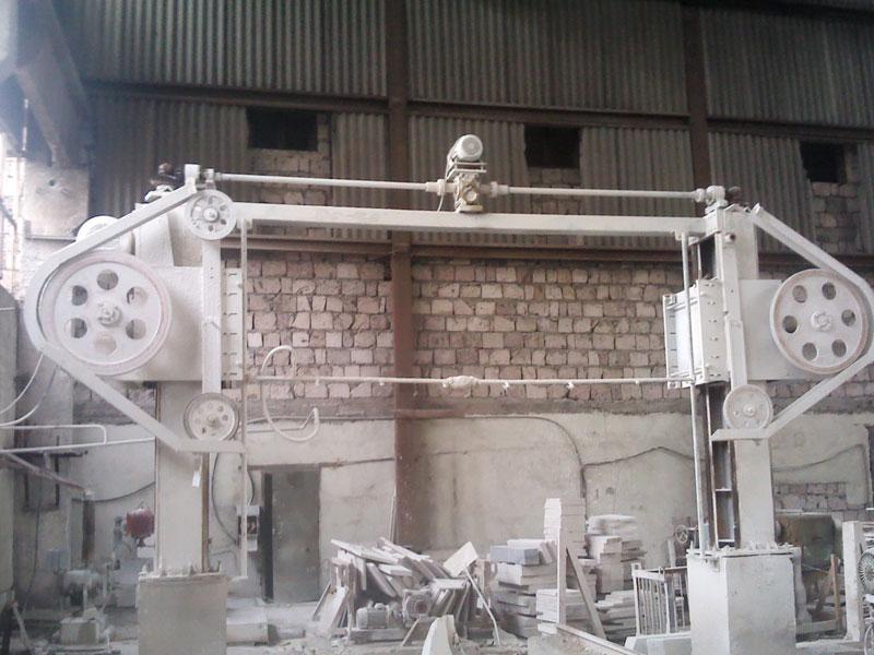 Тросовой станок для резки природных камней (для цеха)
